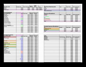 budget template pdf budget template pdf