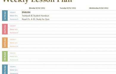 budgeting planner template primary school class timetable template
