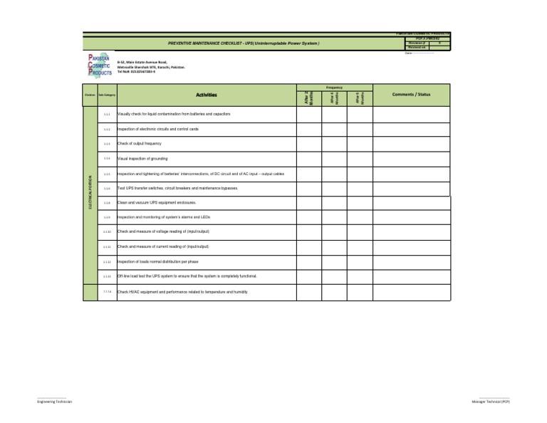 building inspection checklist