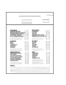 building maintenance checklist mo im