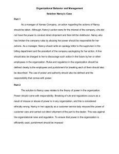 business agreement sample case study organizational behavior and management
