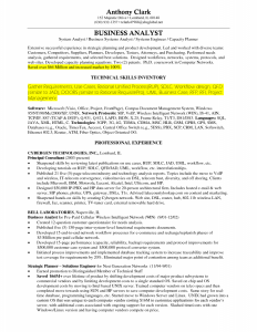 business analyst resumes sample business analyst resume business analyst technical skills inventory
