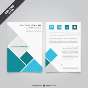 business brochure templates business brochure with squares