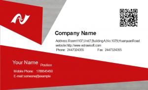 business card format technician business card front