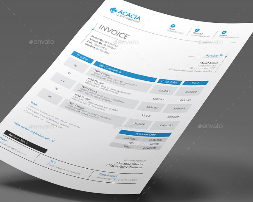 business cards format