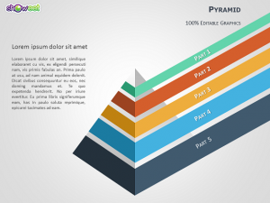 business cards format pyramid infographic diagram powerpoint slide