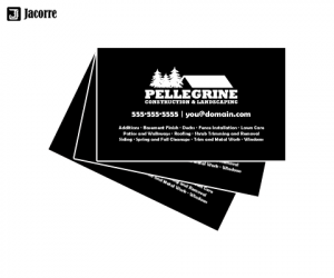 business cards icons bcards pellegrine construction