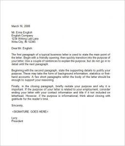business closing letter business letter format samples the best letter sample in ending a business letter template