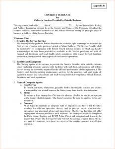 business contract sample business contract sample