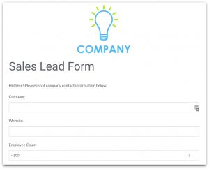 business contract template saleslead
