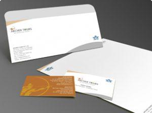 business envelope design archer s