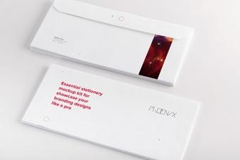 business envelope design