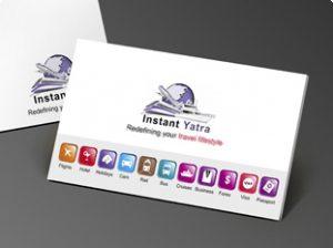 business envelope design instantyatra s