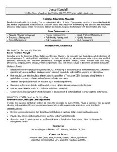 business financial statement template hospital financial analyst resumes business performance review sample resume graduate