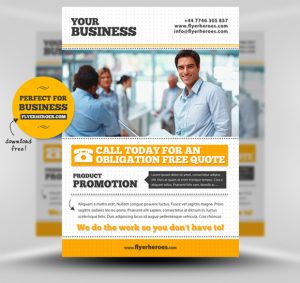 business flyer templates free free business flyer template