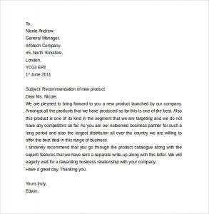 business letter format business letter format2