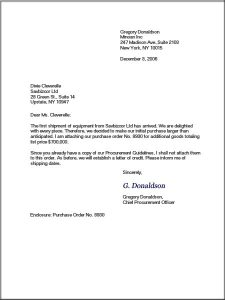 business letter layout letter format