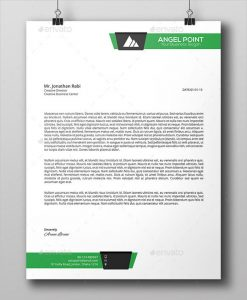business letterhead format line business letterhead template psd download