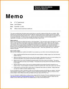 business memo format proper memo format sample business memo examples 262698