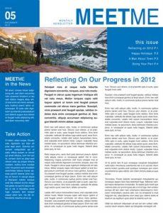 business newsletter templates afecabeeeec