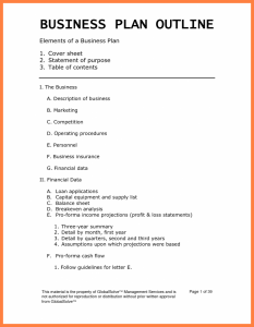 business plan outline examples business plan outline business plan outline for small business 1 791x1024
