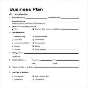 business plan sample pdf business plan template free download pdf