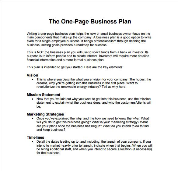 business plan sample pdf