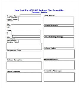 business plan template pdf startup business plan template pdf