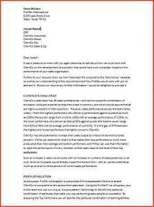 business recommendation letter a business proposal letterproposalsample