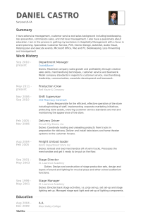 call center resume sample departmentmanagerresume example