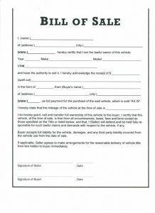 car bill of sale pdf bill of sale auto vehicle su