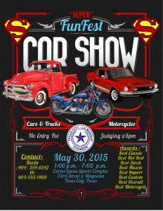 car show flyers funfest car show flyer
