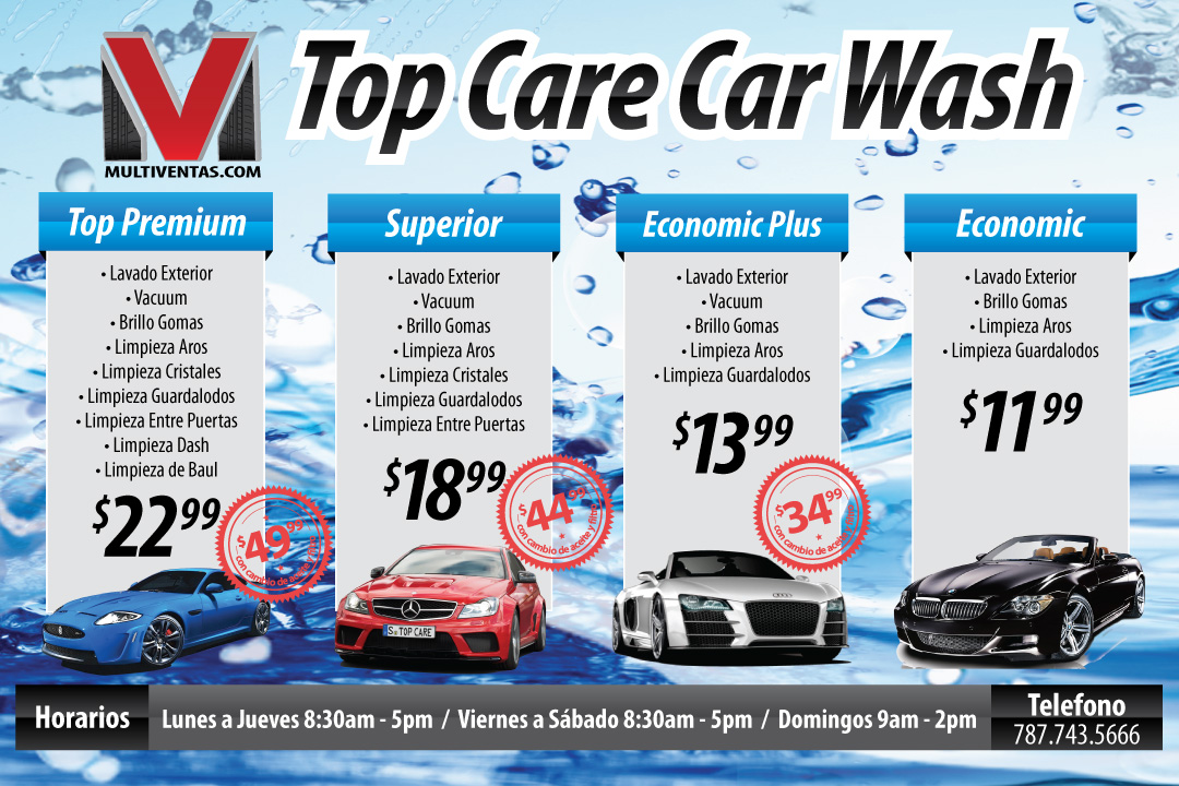 Car Wash Flyer Template Business