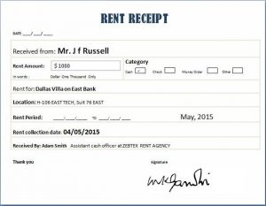 cash receipt template excel fdcffefbbc receipt template real estate business