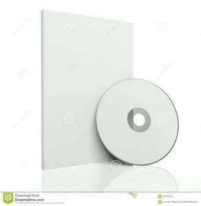 cd cover design template d blank box cd dvd disk