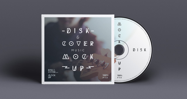 cd cover design template