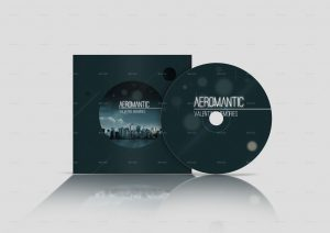 cd cover design template preview