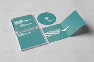 cd cover design template screenshots