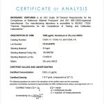 certificate of analysis certificate of analysis fda template
