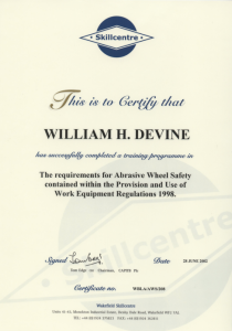 certificate of insurance template abrasive wheel safety
