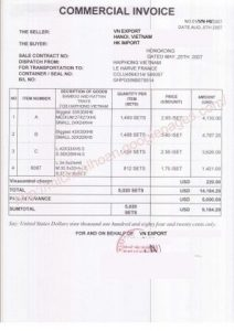 certificate of insurance template commercial invoice large