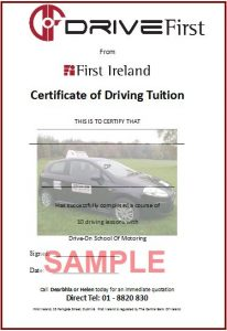 certificate of insurance template drivefirstsample