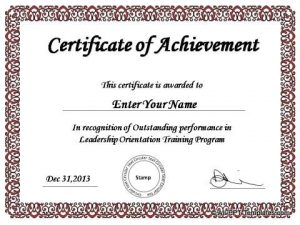 certificate template powerpoint powerpoint awards