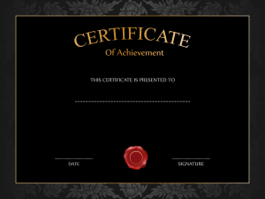certificate templates free download black certificate template png image
