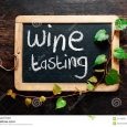 chalk board font handwritten decorative wine tasting sign