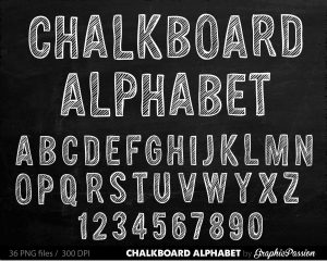 chalk lettering font il fullxfull cniz
