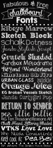 chalkboard writing font free chalkboard fonts graphic