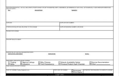 change order form engineering change order form