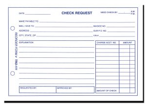 check request form new