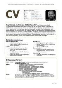 check request template cv linkedin